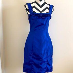 Vintage Cobalt Blue Betsy Johnson Dress